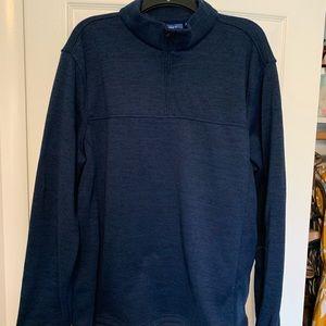 Men's Quarter Zip fleece sweater